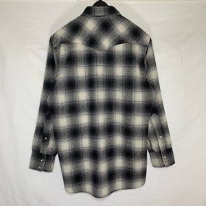 Pendleton Shirts - Vintage Pendleton Made in USA Wool buttonup size L